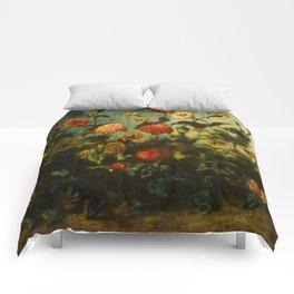"Eugène Delacroix  ""Flowers"" Comforters"