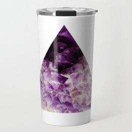 amethyst triangle Travel Mug