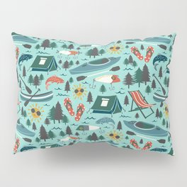 Lake Life - Summer Aqua Pillow Sham