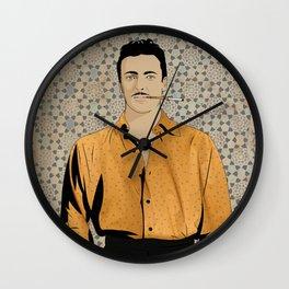 Rushdi Abaza Wall Clock