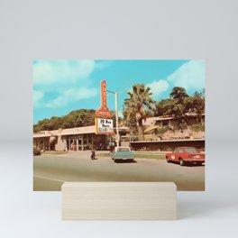 Vintage Austin Motel Mini Art Print