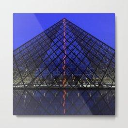 The Louvre Metal Print