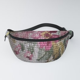 Vintage Flowers Fanny Pack