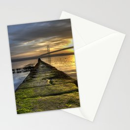 The Forth Road Bridge as the Sun Sets Stationery Cards