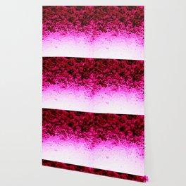 Magenta Fuchsia Pink Ombre Crystals Wallpaper