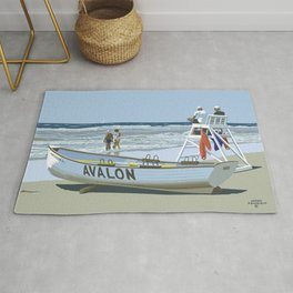 Avalon, Cooler by a Mile Rug