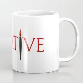 Creative Word with Pen Coffee Mug