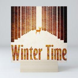 Winter time 1 Mini Art Print