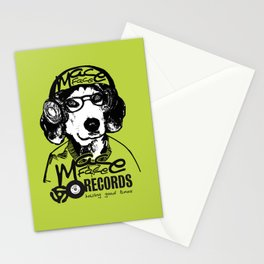 Mace Face Music Stationery Cards