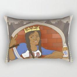 Queen of Swords - Azealia Banks Rectangular Pillow