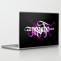 psycho Laptop & iPad Skins featuring Psycho by noistromo