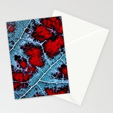 leaf structure macro III Stationery Cards