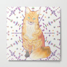 foxy candy coated Metal Print