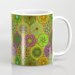 12 Hand Drawing Mandalas Pattern Coffee Mug