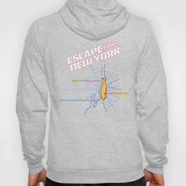 ESCAPE FROM NEW YORK MAP Hoody