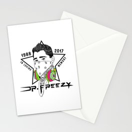 In Memory of Robert Buscher (Dr. Freezy) - Rainbow Stationery Cards