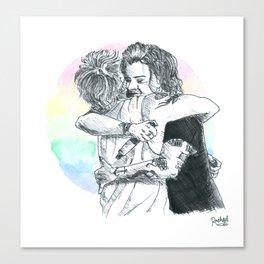 Larry Hug 2015 Canvas Print