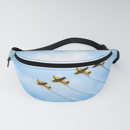 aircraft vintage airplanes aviation Fanny Pack
