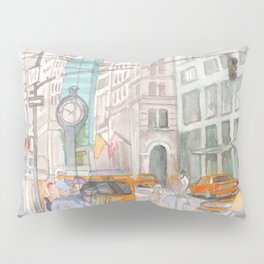 Reflection in the New York City windows II Pillow Sham