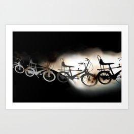 Let's Ride... Art Print