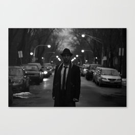 silence Canvas Print