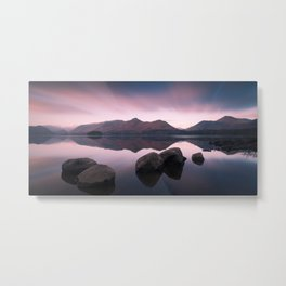 Derwentwater Sunrise - Lake District Metal Print