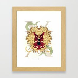 Visceral Nobility Framed Art Print