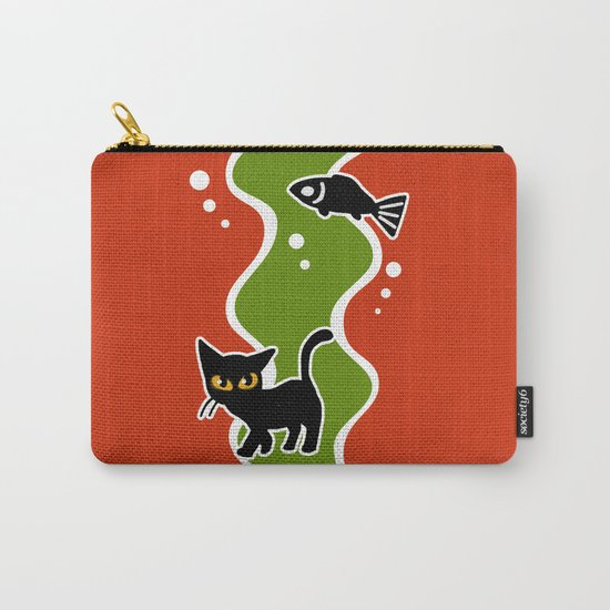 Fish and cat Carry-All Pouch