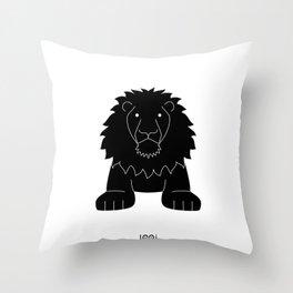 L/Leon Throw Pillow
