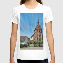Church Switzerland Bad Zurzach Kanton Aargau temple Houses Cities Temples Building T-shirt
