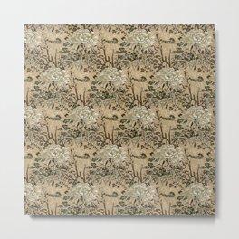 Chinese Peony pattern Metal Print