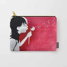 Close Your Eyes & Make A Wish Carry-All Pouch