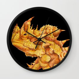 Thorny Devil Wall Clock