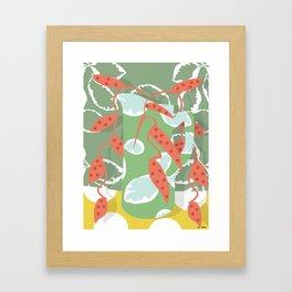 ceramic jar Framed Art Print