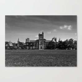 University College Main Building Toronto Canada Canvas Print