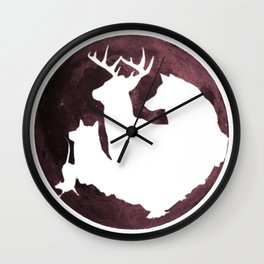 Moony, Wormtail, Paddfoot, and Prongs Wall Clock