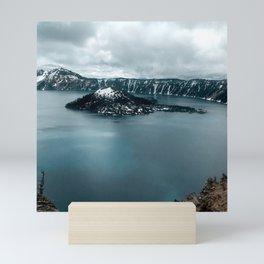 Mountain Lake View Mini Art Print