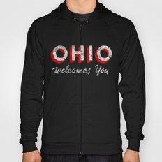 Vintage Ohio Welcome Sign Hoody
