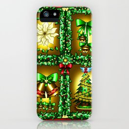 Christmas Artwork #24 (2018) iPhone Case