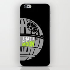 That's No Moon iPhone & iPod Skin