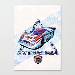 """Lancia LC2 """"Lancia-Ferrari""""// Le Mans Race Cars Canvas Print"""