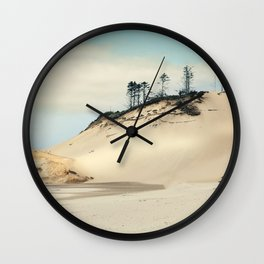 beach dunes Wall Clock