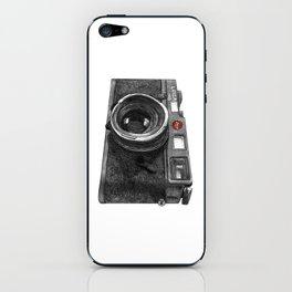 Leica M6 Camera Sketch iPhone Skin
