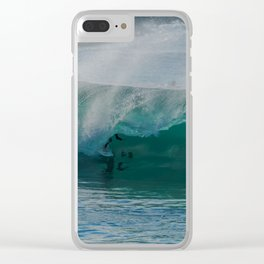 Shacked at the Wedge Clear iPhone Case