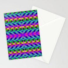 Rainbow Scaffolding Stationery Cards