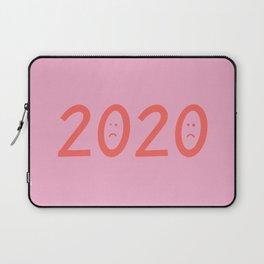 2020 Unhappy Emoji Year Laptop Sleeve