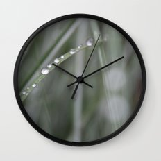 Sea Grass Wall Clock