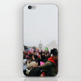 Women's March on Washington iPhone Skin