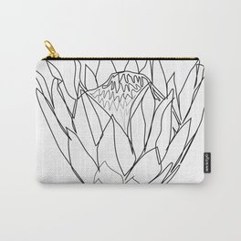 """""""Botanical Collection"""" - Protea Flower Carry-All Pouch"""