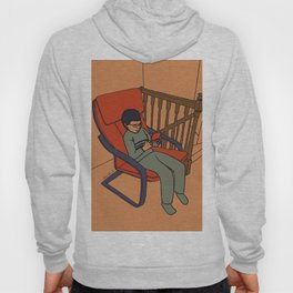 At the top of the stairs Hoody
